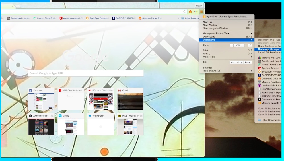 export bookmarks from Chrome to Safari