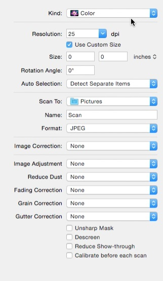 scan picture directly to Photoshop