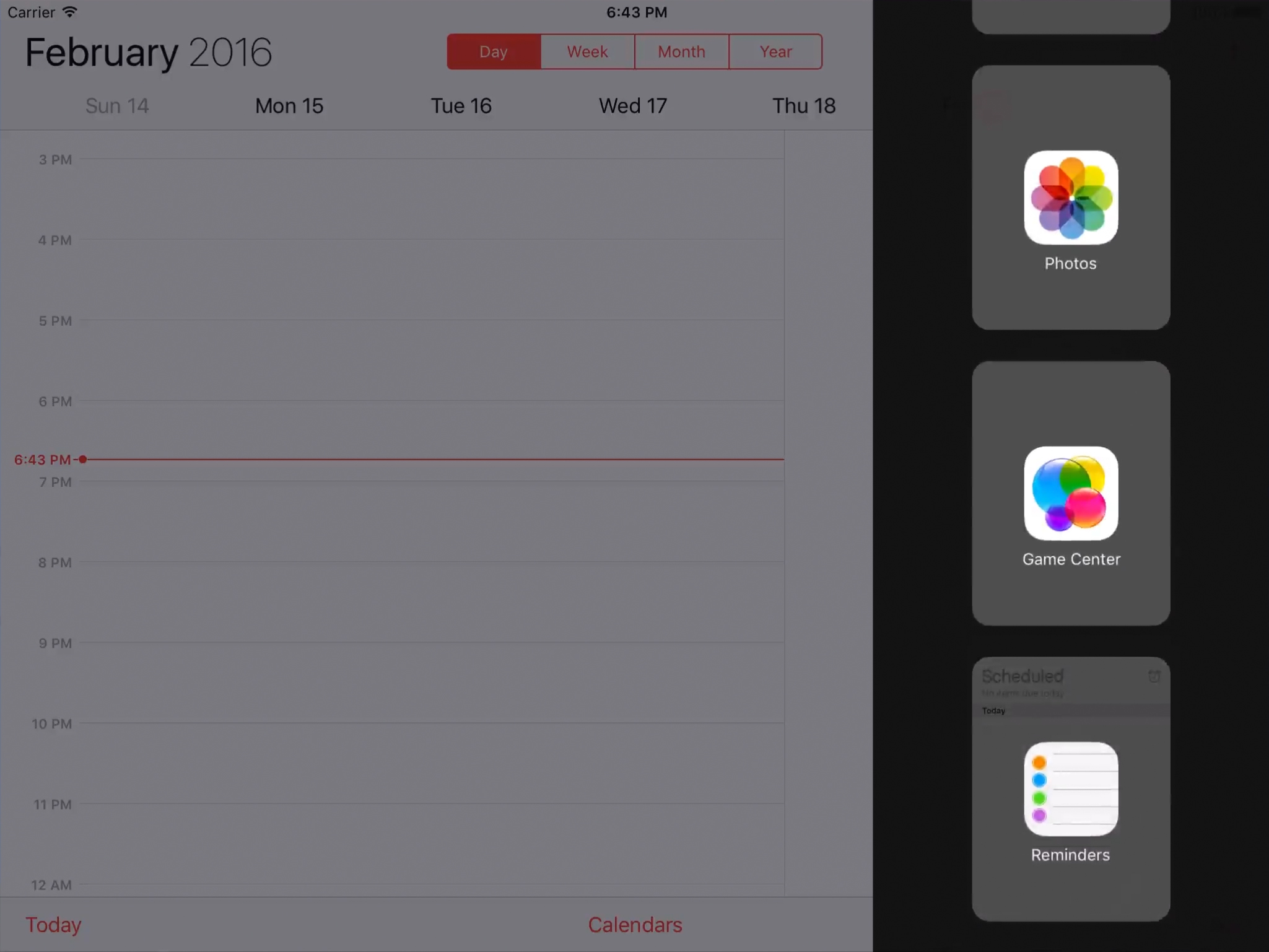 multitasking on iPad in iOS 9