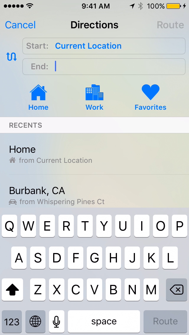 Set Contacts for Home, Work & Favorites in Maps