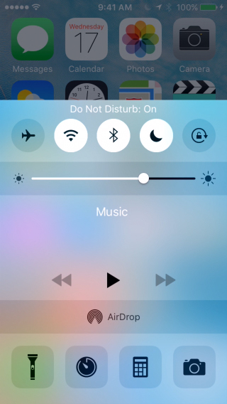 use DO NOT DISTURB MODE in iPhone and iPad on iOS 9