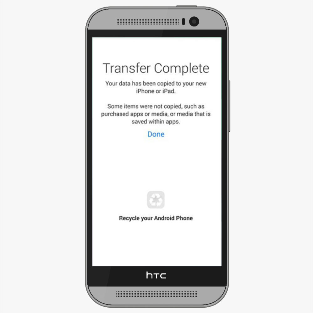 transfer Your Data From Android to iPhone