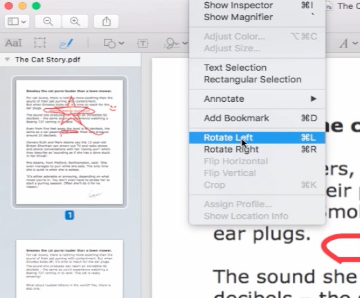 Edit PDF on Mac