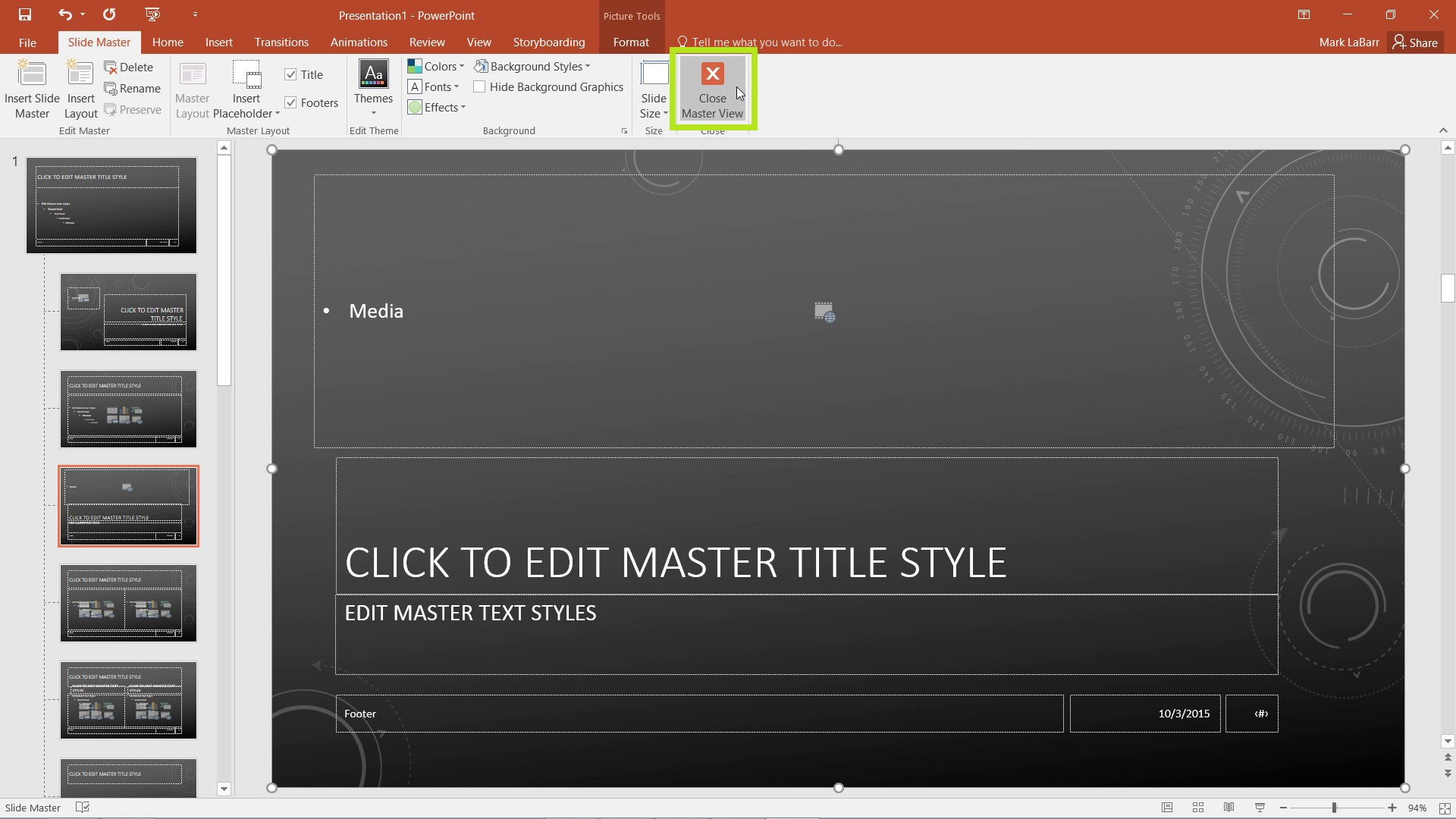 Make Custom Themes in PowerPoint 2016