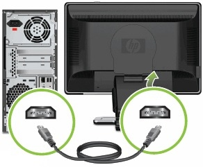 How to connect pc to hdmi tv