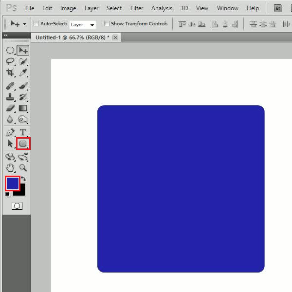 Create a basic icon shape