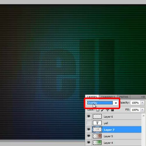 using of blend modes