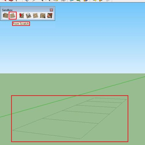How to use the sandbox tool in Google SketchUp | HowTech