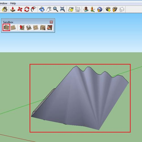 Make terrain from contours
