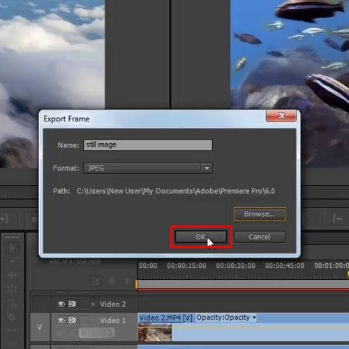 How to Export in Premiere Pro CS6