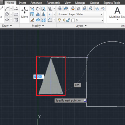 "Make a shape from the ""halfwidth"" option"