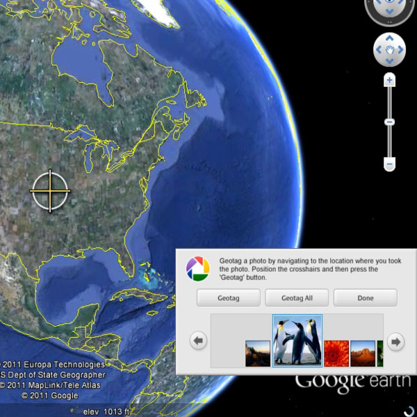 Open Google Earth
