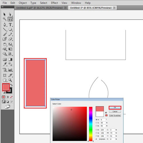 Work on the rectangles together