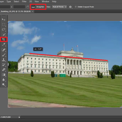 Shifting from Photoshop CS5 to CS6 – The Crop Tool