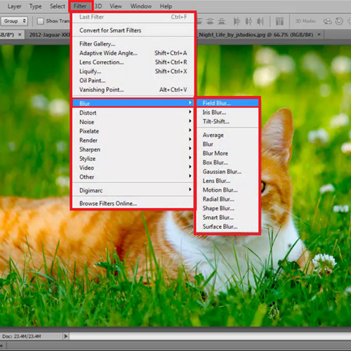 How to sharpen blurry images in photoshop cs5
