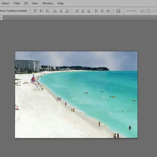 photoshop how to use magnetic lasso