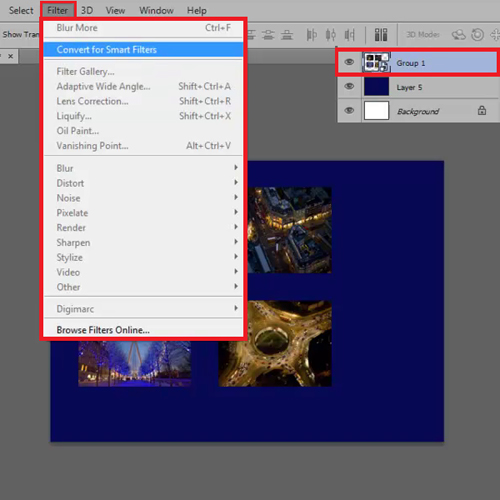 Use the Convert for Smart Filter option
