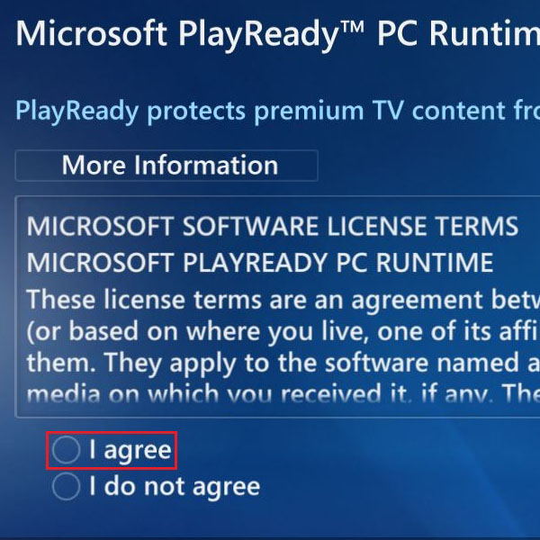 View End User License Agreement
