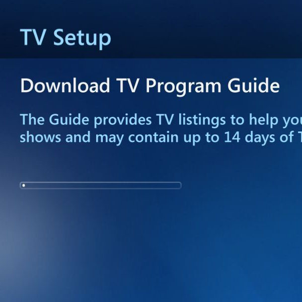 Downloading the guide for TV programs