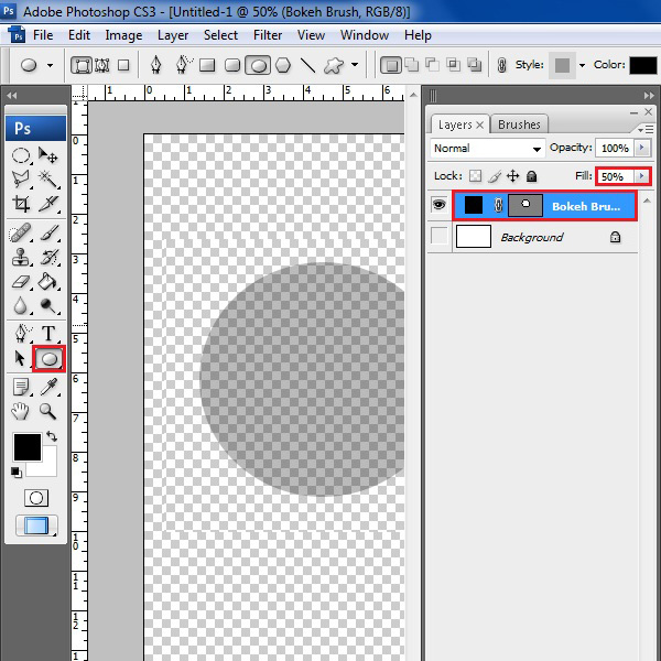 "Use the circular drawing tool""  <strong>Step # 5 – Open the Blending Options</strong></p> <p>Right click on this layer and select the ""Blending option"" from the menu. This will open a blending options panel in which you can make further changes.</p> <p><center><img src="