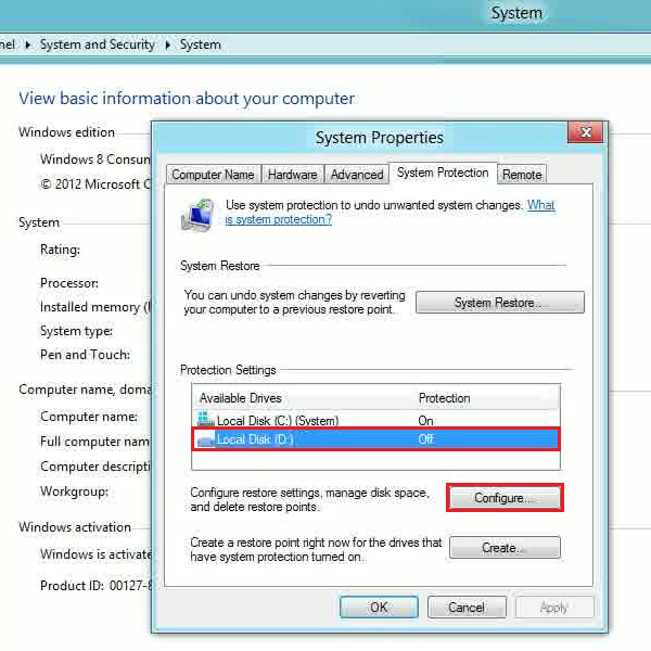 Select other drives