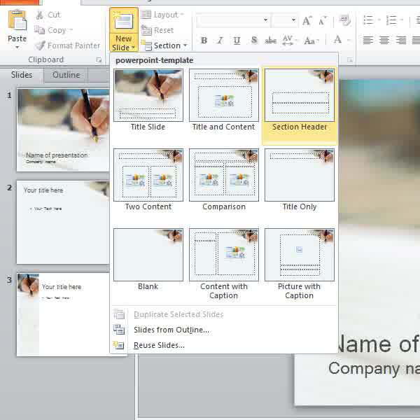 how to separate your powerpoint slides into sections | howtech, Presentation templates